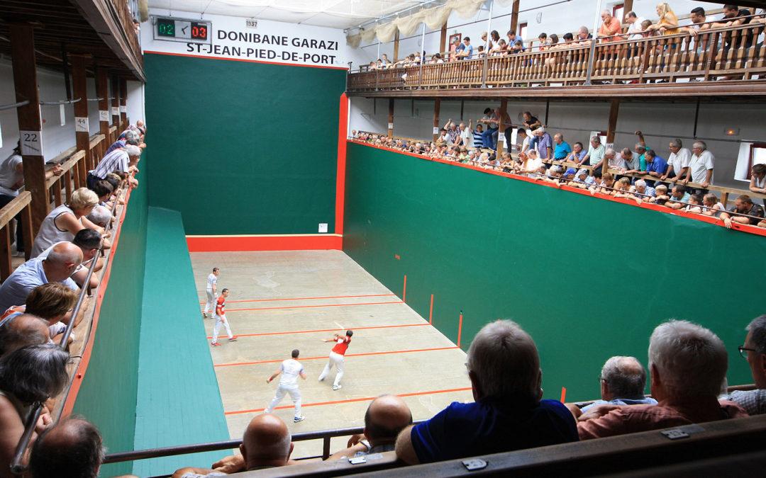 Partie de pelote Basque
