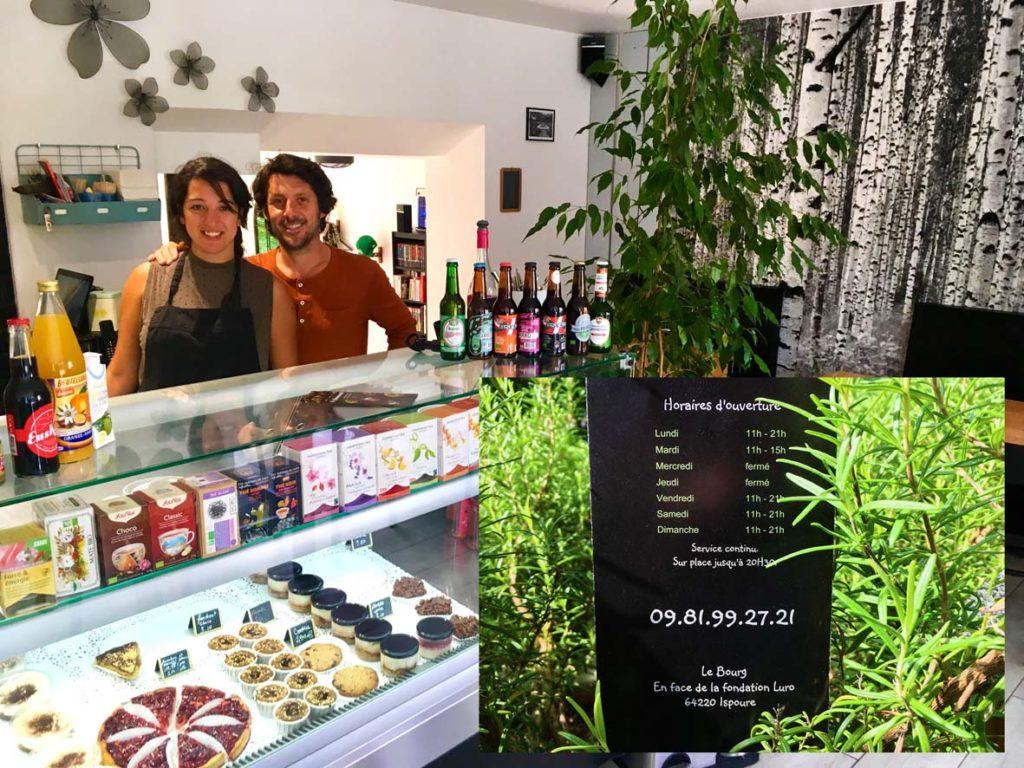 Snack La Gourmande accueil de Priscilla et Sébastien